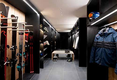 ski room pour ranger tout votre équipement